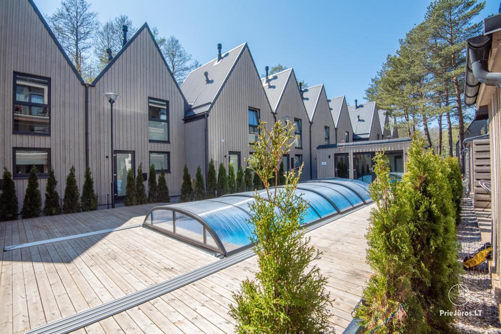 Nowe mieszkanie z tarasem i podgrzewanym basenem blisko morza - 20