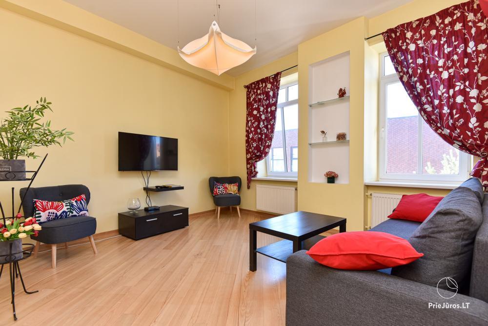 Klaipeda Center Apartment - przytulne dwupokojowe mieszkanie w centrum Kłajpedy - 1