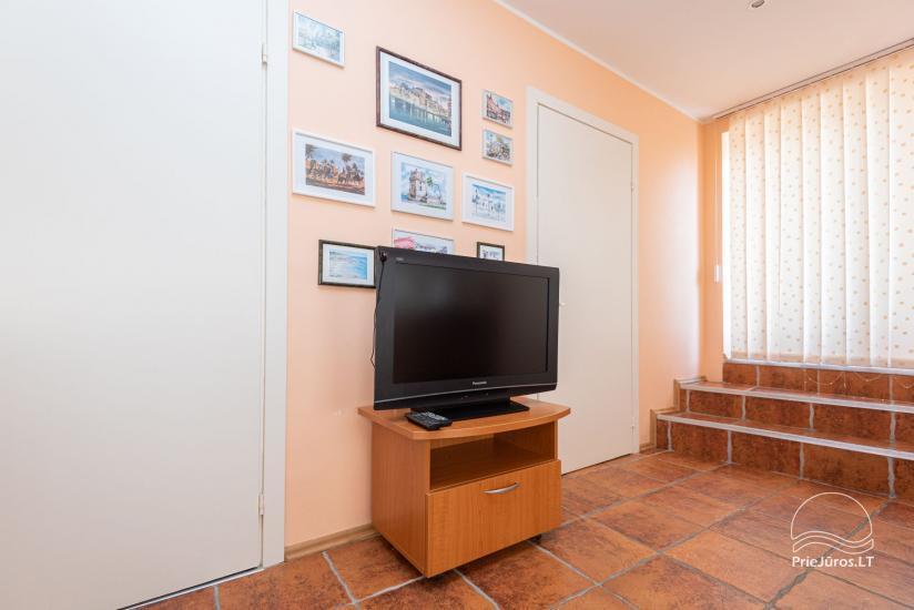 Trzy pokojowe mieszkanie do wynajęcia w Połądze. Do 8 osób - 7