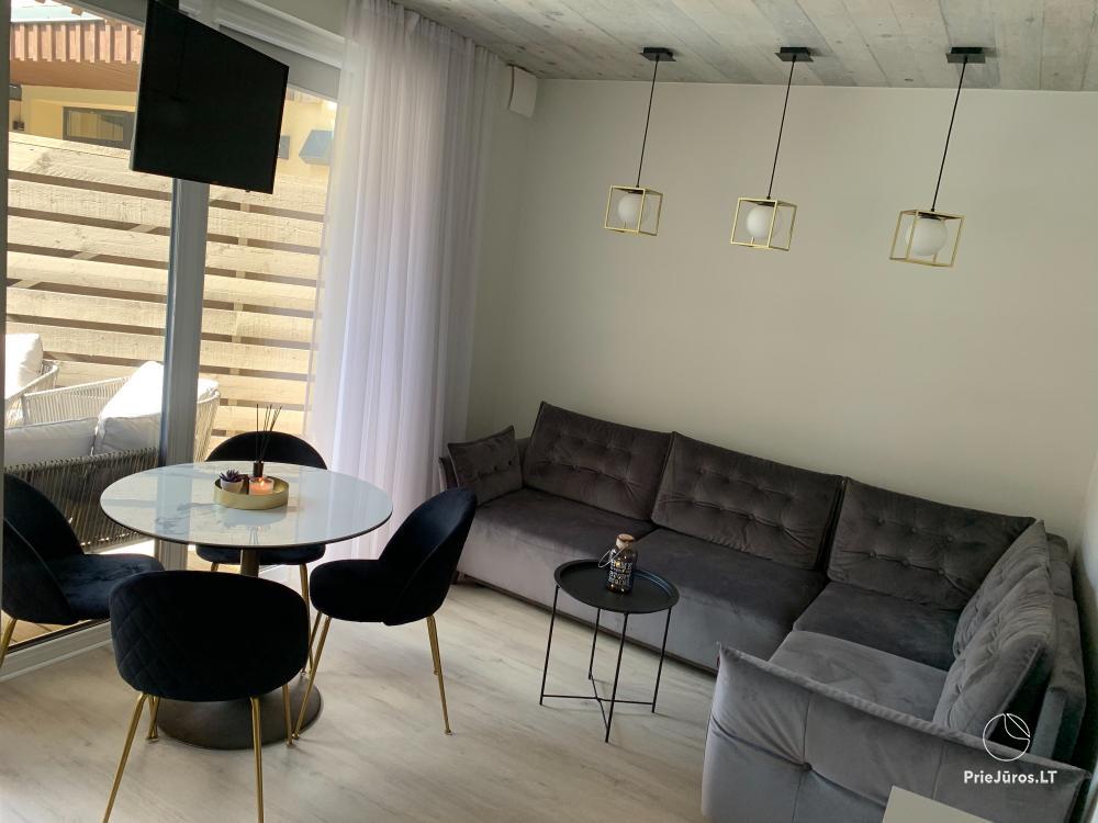 """Mieszkanie """"Ciki Puki"""" z podgrzewanym odkrytym basenem w Połądze, w Kunigiskiai - 1"""