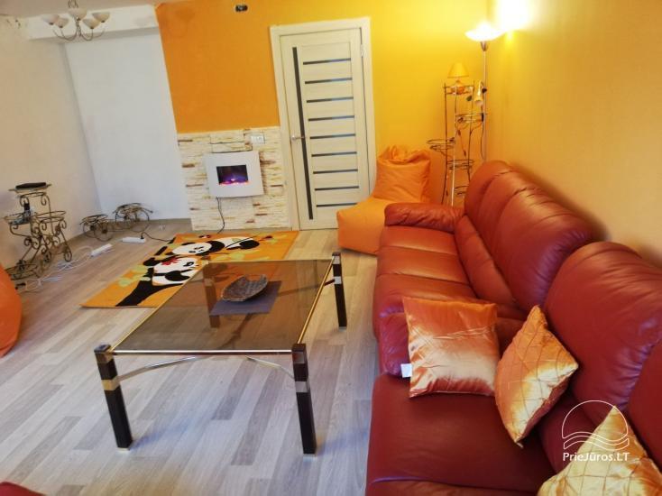 Nowoczesne mieszkanie do wynajęcia w Rusne