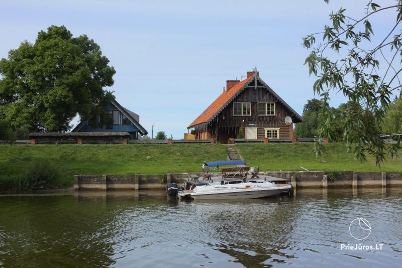 Dom rybacki do wynajęcia w Rusne