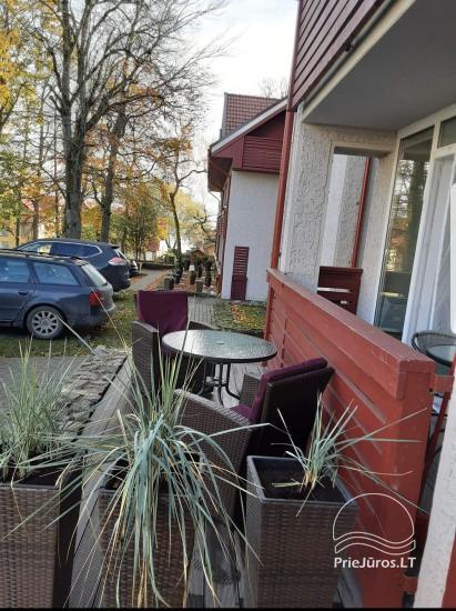 Apartament typu studio do wynajęcia w centrum Juodkrante, w pobliżu Zalewu Kurońskiego - 14
