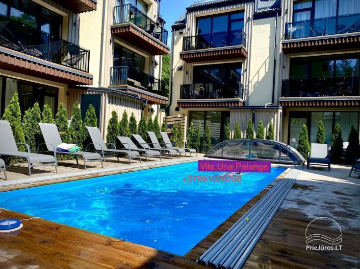 Villa Una - nowy 3-piętrowy domek w kompleksie Ciki puki pajurys