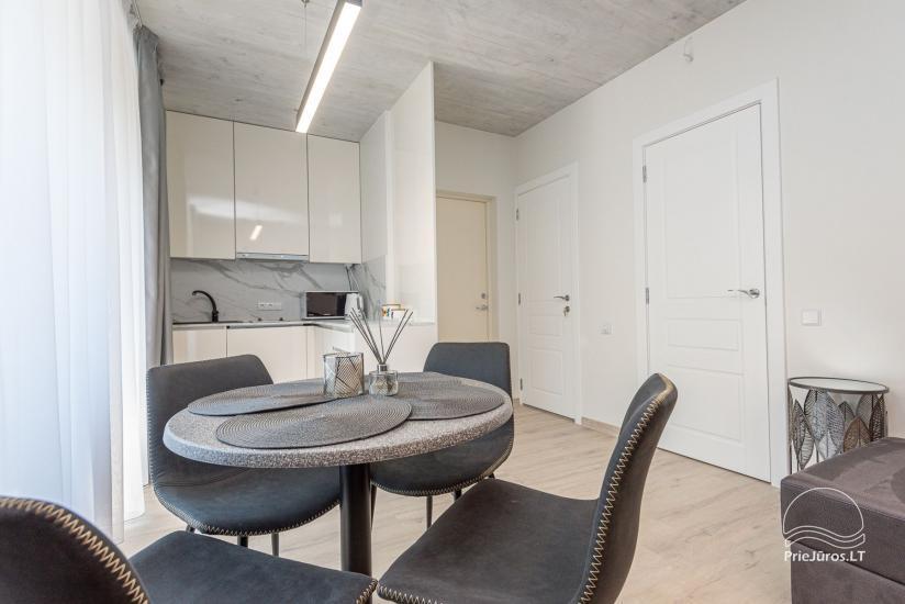 Przytulnie urządzone mieszkanie do wypoczynku w Połądze, w Kunigiskiai - 5