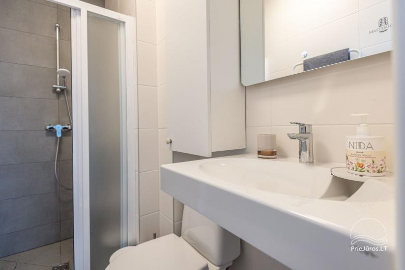 Przytulnie urządzone mieszkanie do wypoczynku w Połądze, w Kunigiskiai - 15