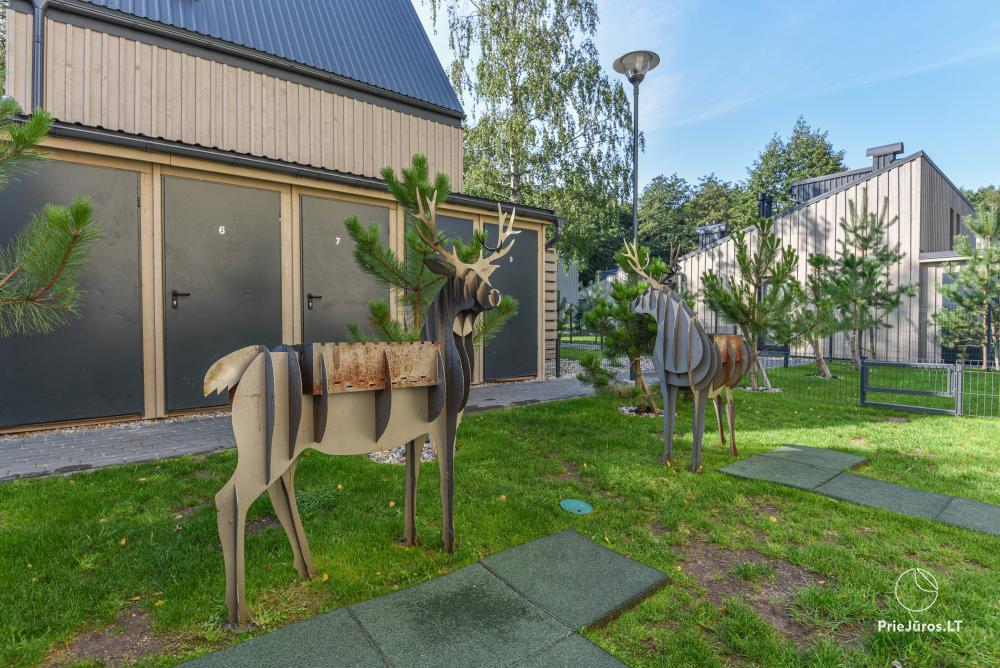 Nowe mieszkanie z podgrzewanym basenem otoczonym lasem sosnowym - 19