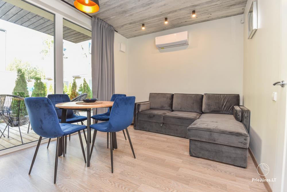 Nowe mieszkanie z podgrzewanym basenem otoczonym lasem sosnowym - 2
