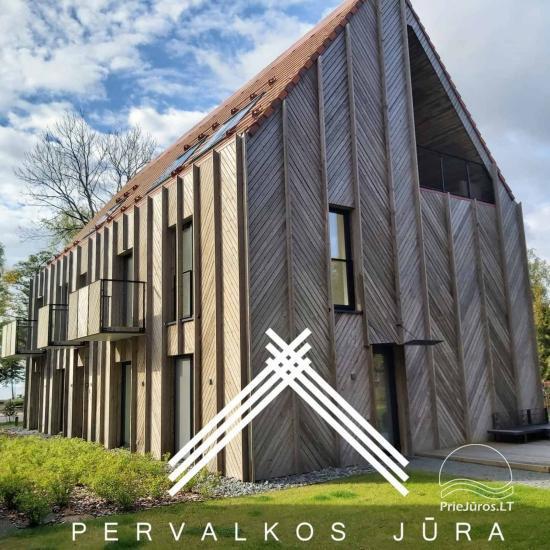 Mieszkania do wynajęcia w Pervalka, w nowym kompleksie Morze Pervalka - 1