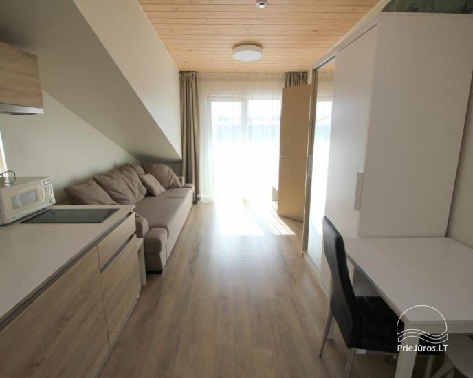 Nowe mieszkania z balkonami w centrum Połągi