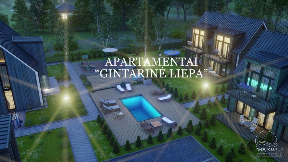 Apartament Gintarine Liepa w Połądze, w Kunigiskiai - 1