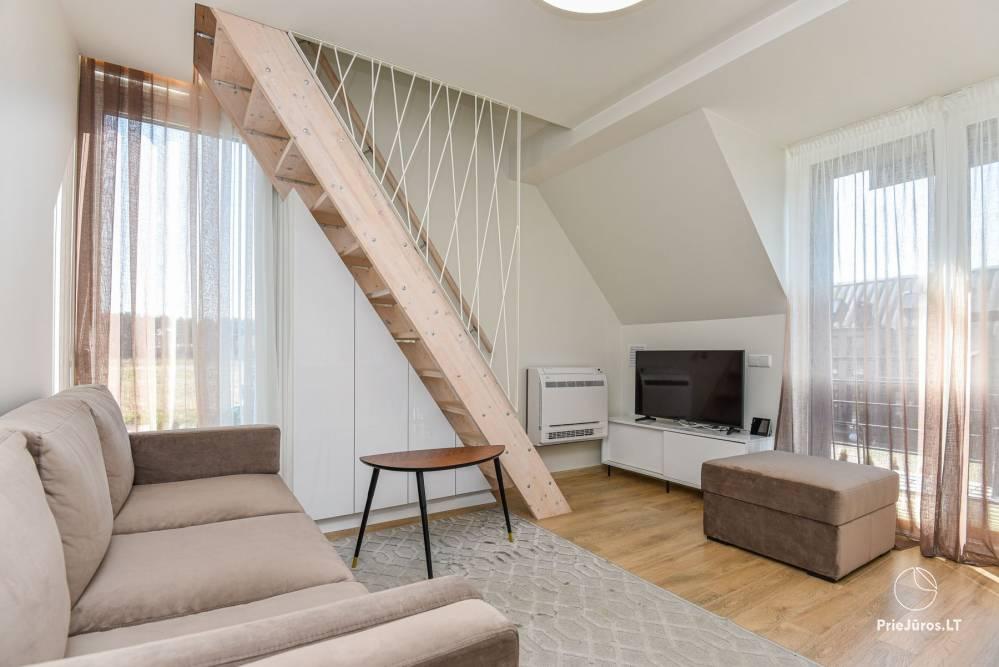 Apartament Gintarine Liepa w Połądze, w Kunigiskiai - 4