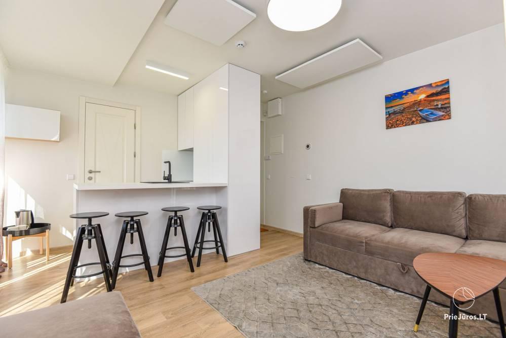 Apartament Gintarine Liepa w Połądze, w Kunigiskiai - 6