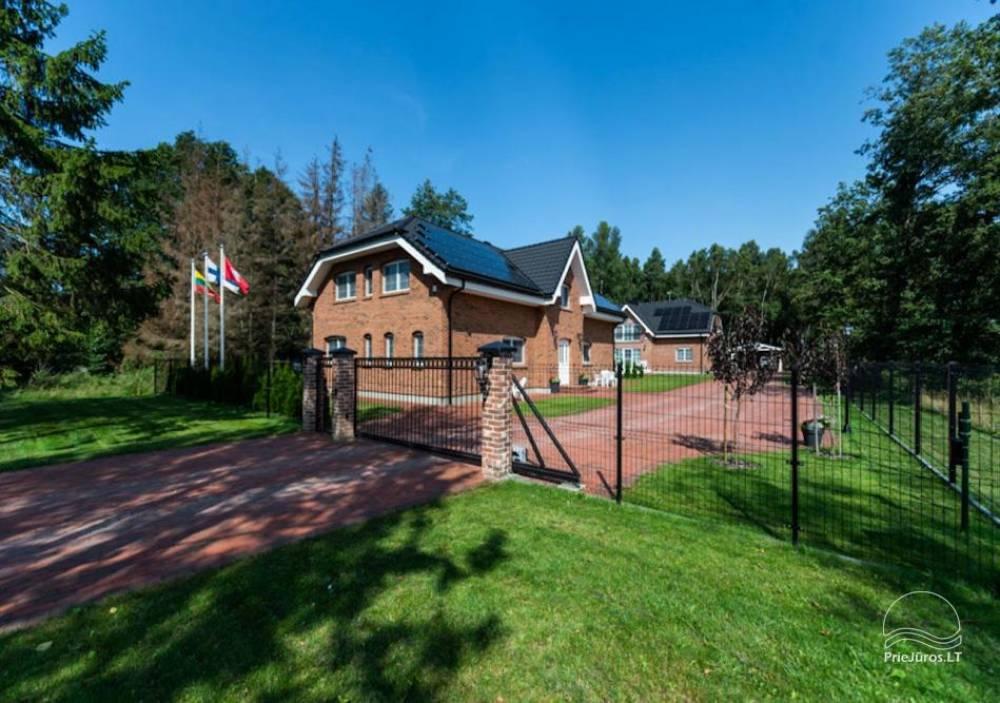 Villa Aido - przestronne apartamenty do wynajęcia w Połądze, w Kunigiskiai. Do morza zaledwie 200 metrów! - 1