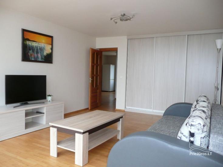 Trzypokojowy apartament na brzegu morza w Mierzei Kurońskiej, 50 m od plaży - 1