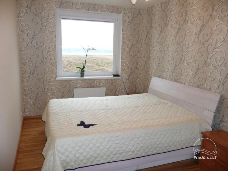 Trzypokojowy apartament na brzegu morza w Mierzei Kurońskiej, 50 m od plaży - 4