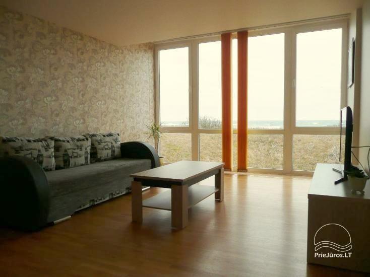 Trzypokojowy apartament na brzegu morza w Mierzei Kurońskiej, 50 m od plaży - 2
