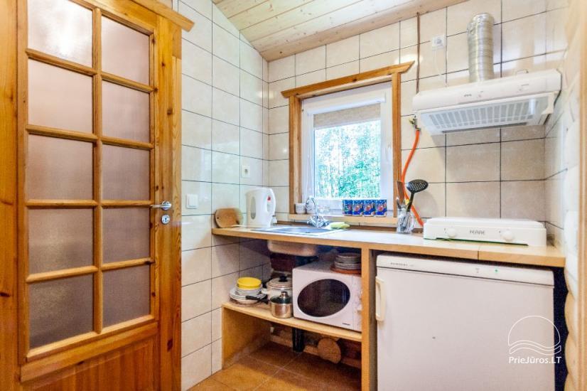 Willa i domki letneskowe do wynajecia w Sventoji Aura - 13
