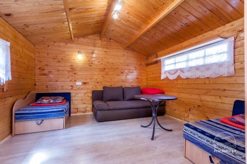 Willa i domki letneskowe do wynajecia w Sventoji Aura - 16