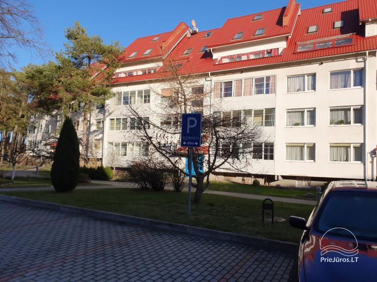 Mieszkanie Sana  w centrum Nidy z dużym balkonem (6 metrów) z widokiem na Zalew Kuroński - 8