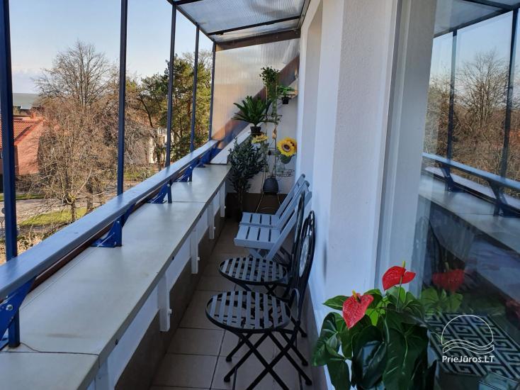 Mieszkanie Sana  w centrum Nidy z dużym balkonem (6 metrów) z widokiem na Zalew Kuroński - 10