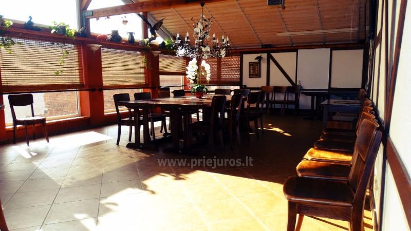 Dom goscinny - restauracja w Priekule w Klajpedskim rejonie KARČEMA MINGĖ - 18