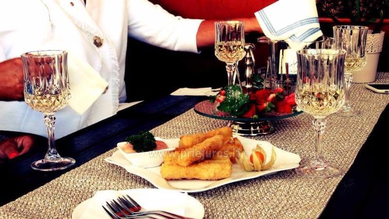 Dom goscinny - restauracja w Priekule w Klajpedskim rejonie KARČEMA MINGĖ - 27