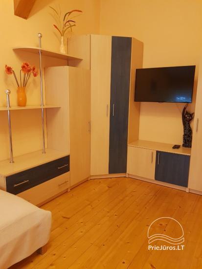 Przestronny apartament z dwiema sypialniami w Nidzie - 4