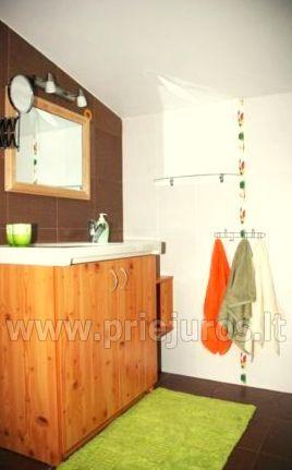 Domek z tarasem dla wakacje w Palanga SAULES NAMELIS, 200m od morza! - 5
