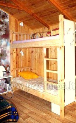 Domek z tarasem dla wakacje w Palanga SAULES NAMELIS, 200m od morza! - 7