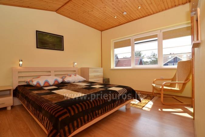 6 łóżek domek i dwupokojowy apartament z tarasem w Nidzie