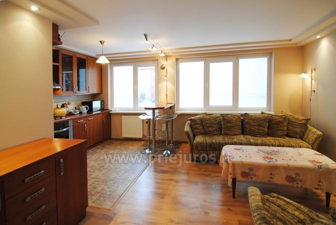 2-pokojowe mieszkanie w centrum Połągi Elite Vacation: 1rst piętro, ciche miejsce - 2