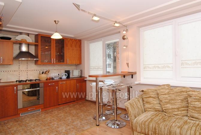 2-pokojowe mieszkanie w centrum Połągi Elite Vacation: 1rst piętro, ciche miejsce - 3