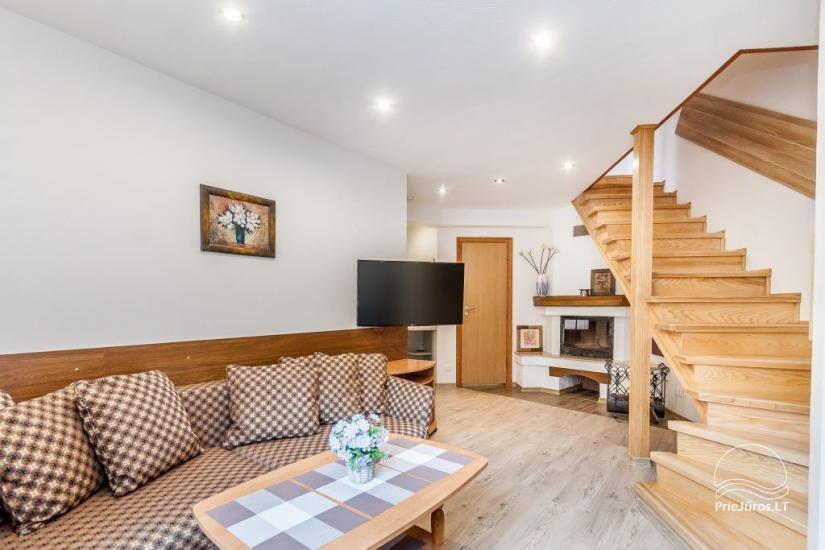 """1–3-pokojowe apartamenty w Juodkrante """"Prie Azuolo"""" – oddzielne wejścia, kuchnie, tarasy - 8"""