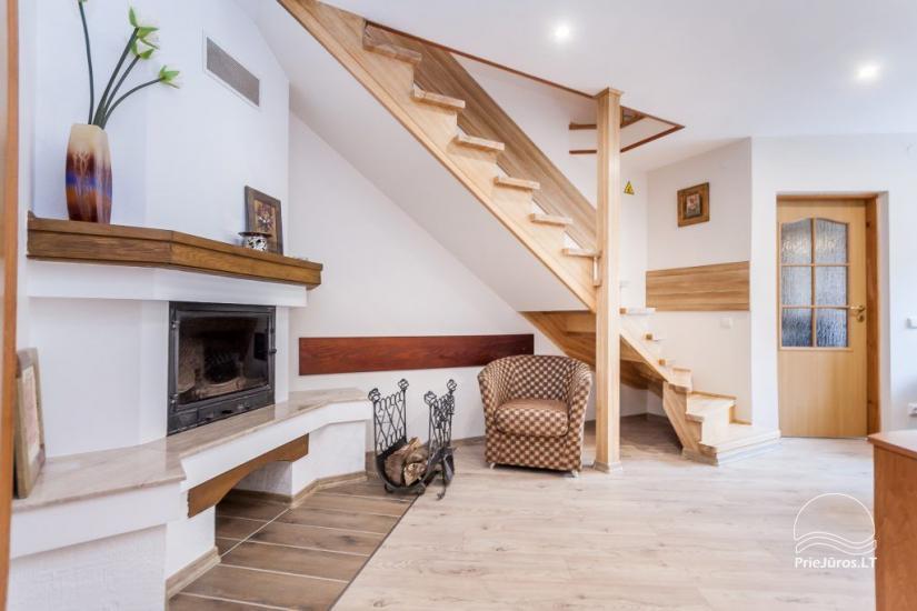 """1–3-pokojowe apartamenty w Juodkrante """"Prie Azuolo"""" – oddzielne wejścia, kuchnie, tarasy - 7"""