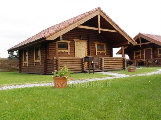 Domki nad morzem w Sventoji (Litwa) - 2