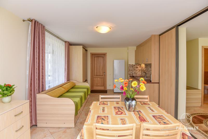 Dom goscinny w Poladze Anike dla wakacje nad morzem (Litwa)