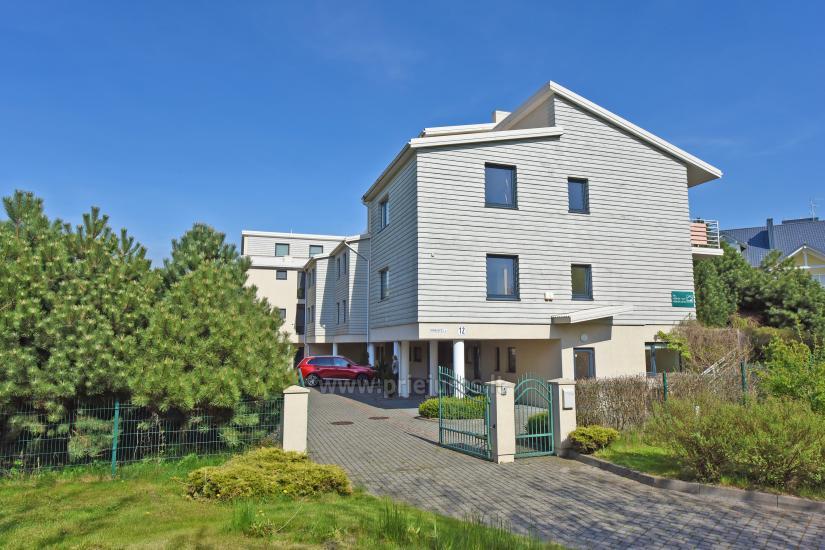 Vila Verbena w Połądze, 2-3 pokojowe mieszkanie z balkonem lub tarasem, kuchni. 7 min pieszo do morza! - 4