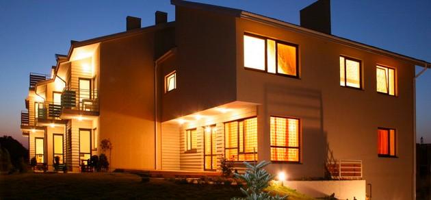 Vila Verbena w Połądze, 2-3 pokojowe mieszkanie z balkonem lub tarasem, kuchni. 7 min pieszo do morza! - 5