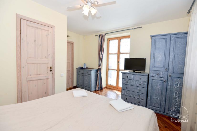 """1 i 2-pokojowe apartamenty do wynajęcia w Nidzie. Dom gościnny """"Nidos Gaiva"""" - 22"""