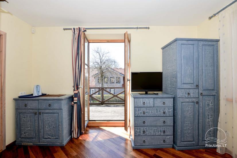 """1 i 2-pokojowe apartamenty do wynajęcia w Nidzie. Dom gościnny """"Nidos Gaiva"""" - 21"""