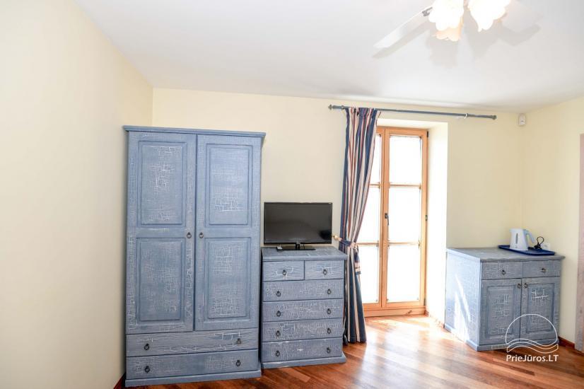 """1 i 2-pokojowe apartamenty do wynajęcia w Nidzie. Dom gościnny """"Nidos Gaiva"""" - 24"""