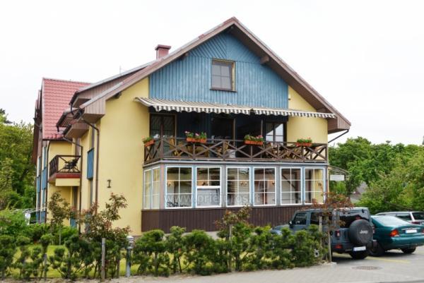 """1 i 2-pokojowe apartamenty do wynajęcia w Nidzie. Dom gościnny """"Nidos Gaiva"""""""