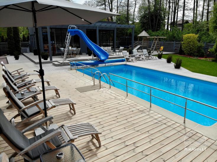 Apartamenty, pokoje – Willa VITALIJA w Poladze z basenem z podgrzewaną wodą - 23