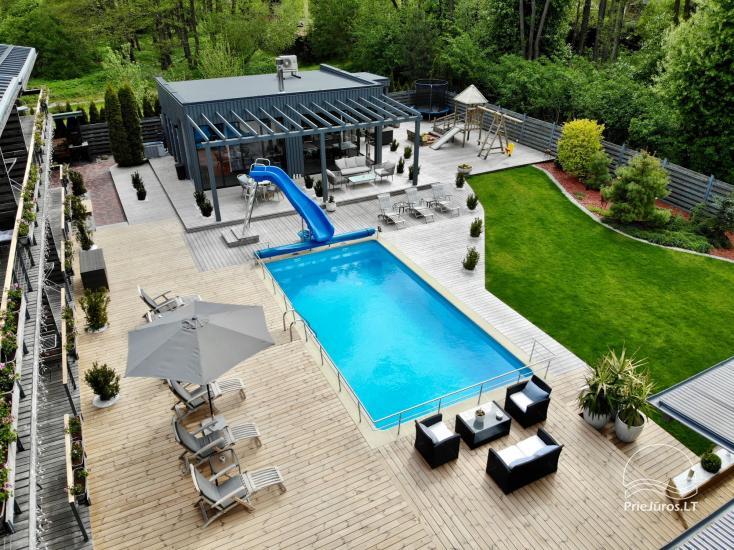 Apartamenty, pokoje – Willa VITALIJA w Poladze z basenem z podgrzewaną wodą - 24