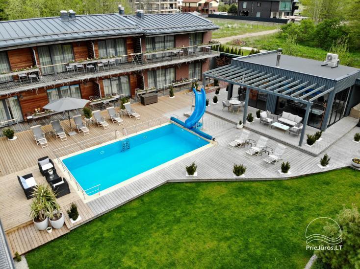 Apartamenty, pokoje – Willa VITALIJA w Poladze z basenem z podgrzewaną wodą - 25