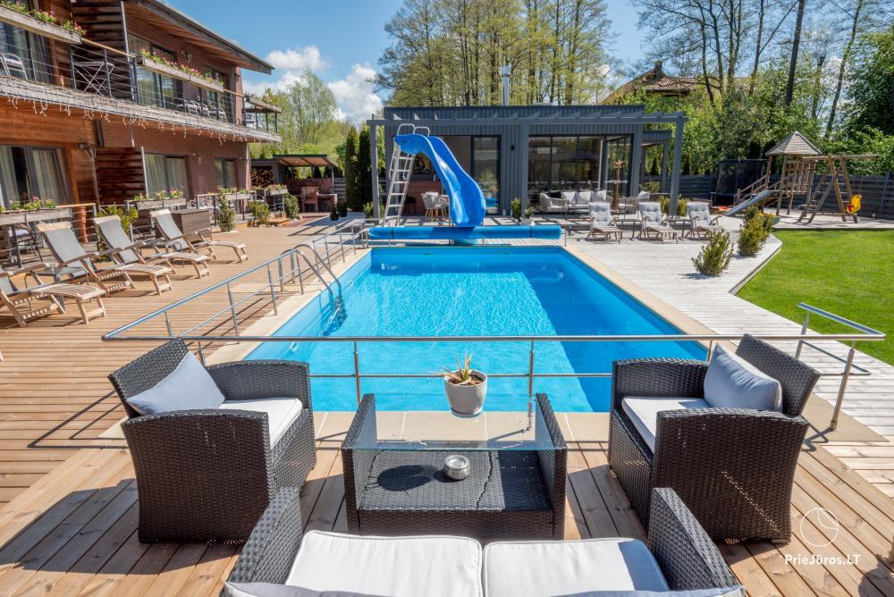 Apartamenty, pokoje – Willa VITALIJA w Poladze z basenem z podgrzewaną wodą - 4