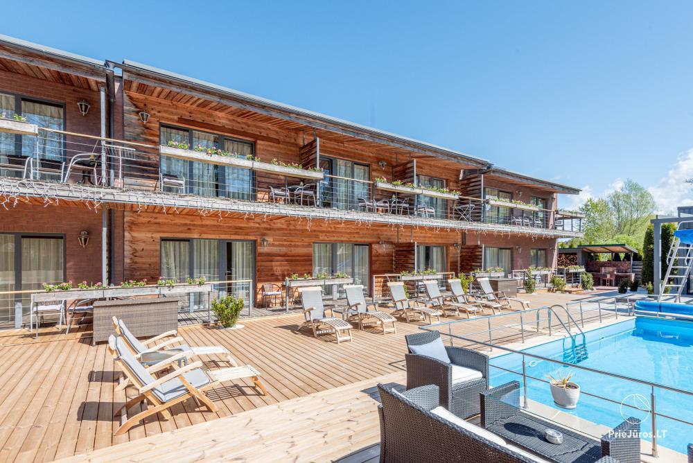 Apartamenty, pokoje – Willa VITALIJA w Poladze z basenem z podgrzewaną wodą - 2