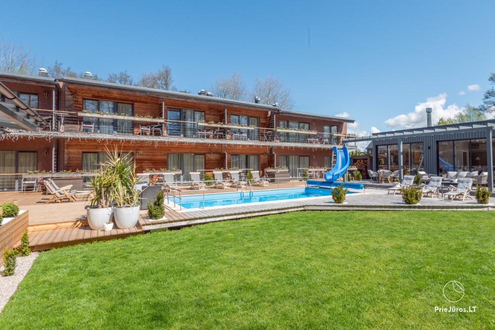 Apartamenty, pokoje – Willa VITALIJA w Poladze z basenem z podgrzewaną wodą - 1