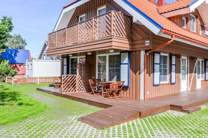 Dom wakacyjny na Litwie na Mierzei Kuronskiej w Preila Preilos Vetra - 4